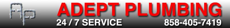 Adept Plumbing Inc San Diego Plumbers Plumbing Services