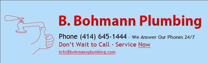 B Bohmann Plumbing Inc - Milwaukee,